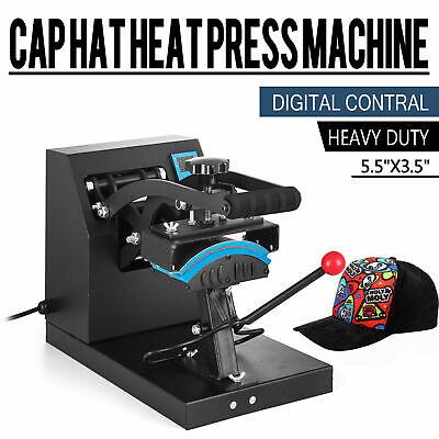 Digital Heat Press Machine Lcd Baseball Hat Cap Transfer Sublimation Printer Us