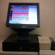 IBM 19nch TOUCH SCREEN WIN 7 PRINTER, DRAWER, SOFTWARE, SCANNER Lowood Somerset Area Preview