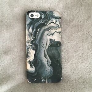 iPhone 5 Phone Case - Marble Paint Canvas