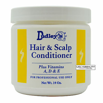 Dudley's Hair & Scalp Conditioner Plus Vitamins A, D & E Net. Wt. 14 Oz (Vitamins Hair Scalp)
