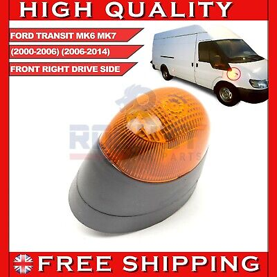 FRONT RIGHT SIDE INDICATOR REPEATER LIGHT LAMP FOR FORD TRANSIT MK6 MK7 1202148