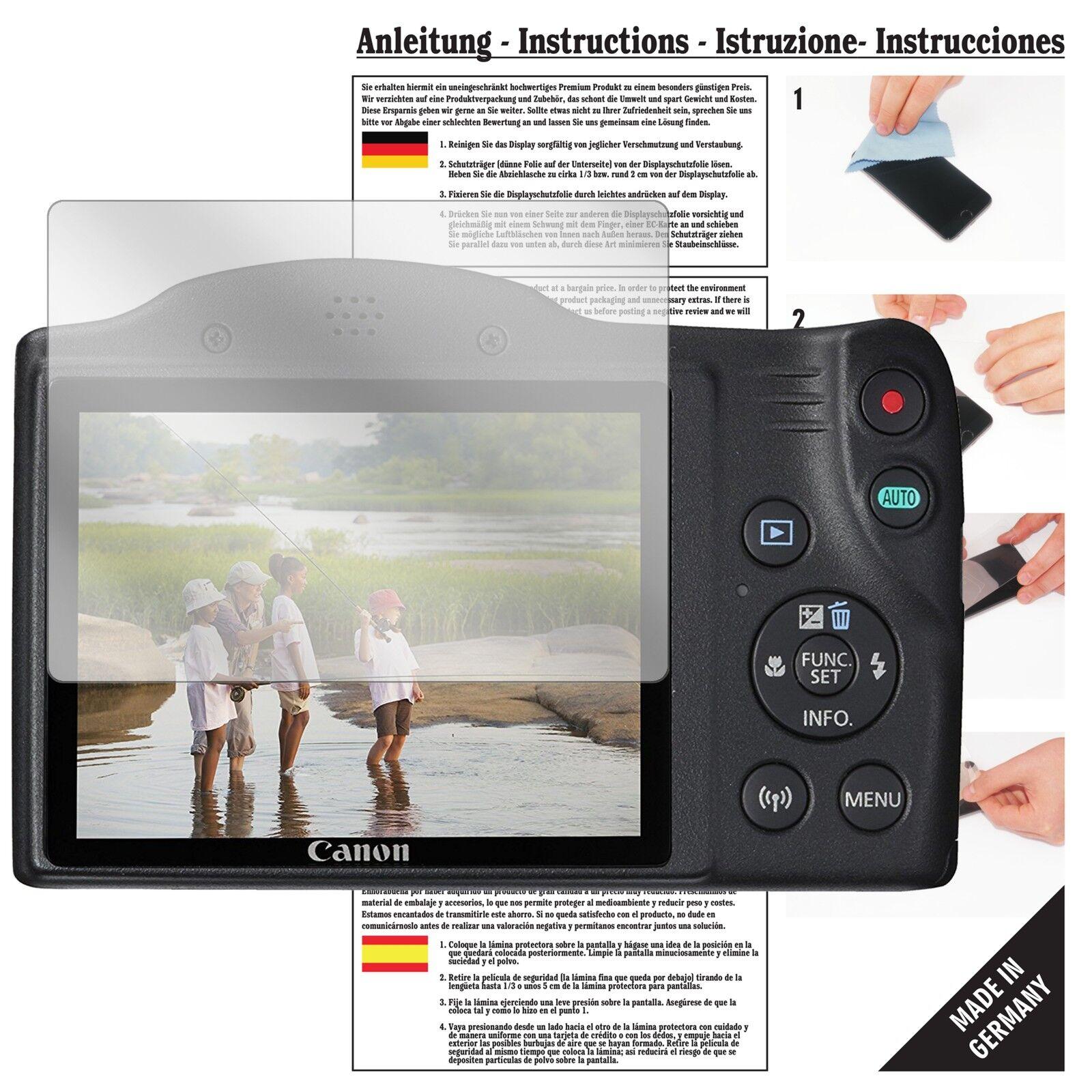 6x Displayschutzfolie für Pentax X-5 Klar Transparent Schutzfolie Displayfolie