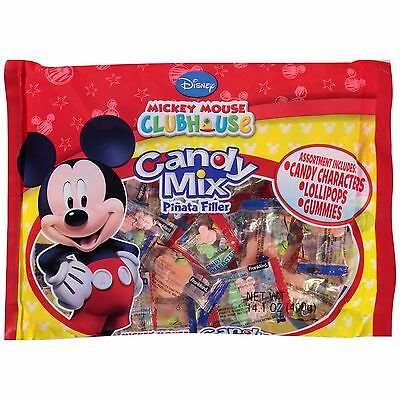 Mickey Mouse Candy Mix Piñata Filler Lollipops Gummies Party Favors ](Mickey Mouse Lollipops)