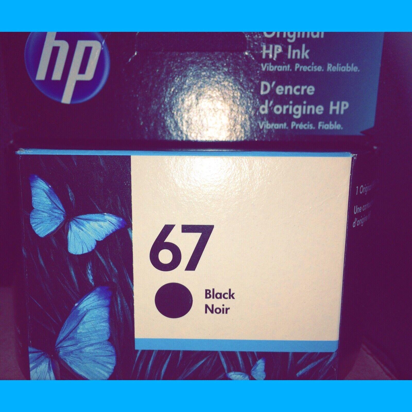 Original HP Ink 67 Cartridge Black.