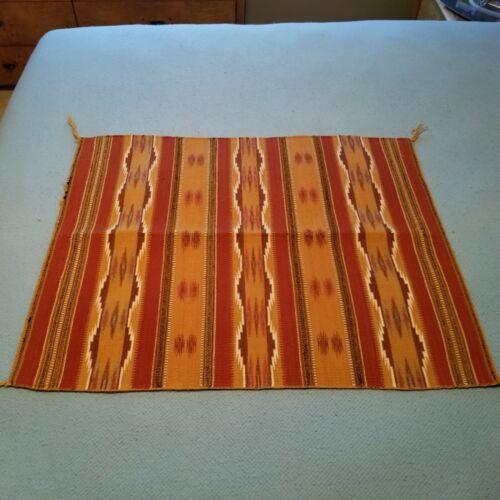 """Navajo Rug Hand Woven Small Mini Size Rug 30"""" x 36"""""""