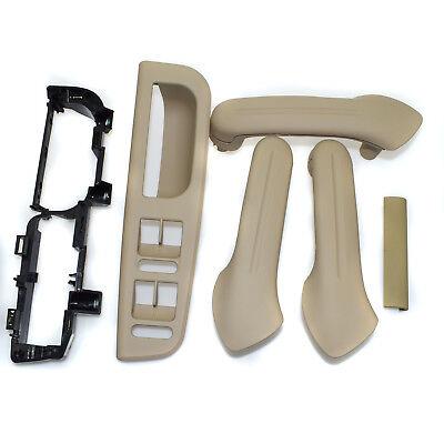 6PCS For Jetta Golf MK4 Beige Inside Door Handle Cover Bracket Grab Bezel Trim