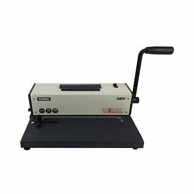 Rayson Pd-1503 Coil Binding Machine 41 Binder With Electric Coil Inserter