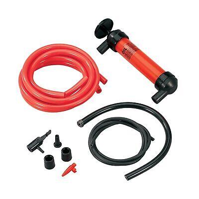 Koehler Enterprises Multi Use Siphon Fuel Transfer Pump Red Kit Safely Easily