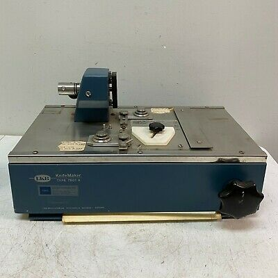 Lkb Knifemaker Type 7801 A Microtome Glass Knife Maker Tested Working