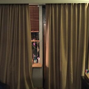 Curtains (thermal lining, blackout)