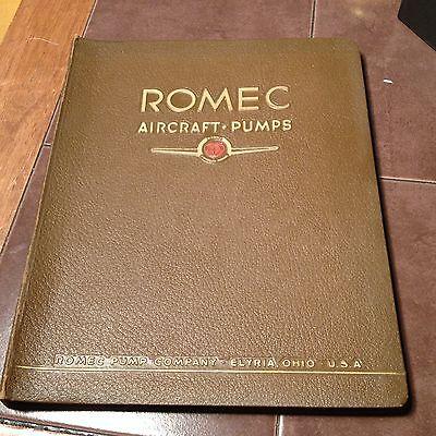 Original Romec Aircraft Pumps Manual