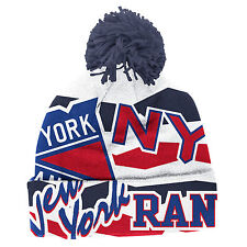 NEW YORK RANGERS 2014 NHL STADIUM SERIES REEBOK CENTER ICE CUFFED POM KNIT HAT