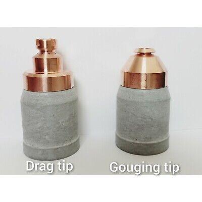 Drag Tip Consumables 23 Pcs Size 1.5-plasma Cut Torch Ptm100 Pt100 Fit Everlast