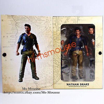 "NECA Nathan Drake Uncharted 4 Action Figure Ultimate 7""  ReelToys Collector New for sale  Shipping to Nigeria"