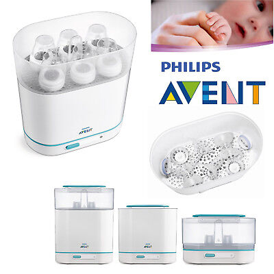 Philips Avent Bebé biberones eléctrico Esterilizador de Vapor 3 en 1 se adapta a