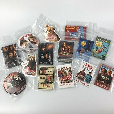 Promo Movie Pins Lot of 14 Indiana Jones - Blues Clues Halloween