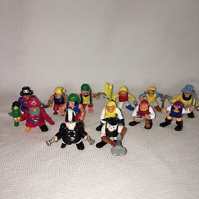 Fisher Price Great Adventures Pirates Figures Vtg Lot of 13