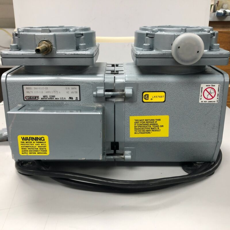Used Dental Lab Equipment Vacuum Pump Gast- Ivoclar for porcelain oven