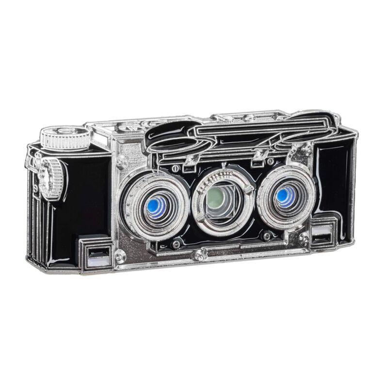 Stereo Realist 35mm half frame Camera Enamel LapelPin