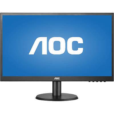 "AOC E2280SWDN 22"" Full HD LED Monitor 1920x1080 5ms 60Hz 16:9 VGA DVI"