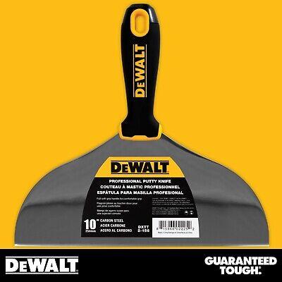 Dewalt Putty Knife 10 Carbon Steel Flexible Drywall Joint Paint Scraper