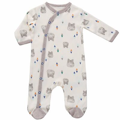 Asher & Olivia Footed Pajamas for Boys Baby Sleepers Side Sn