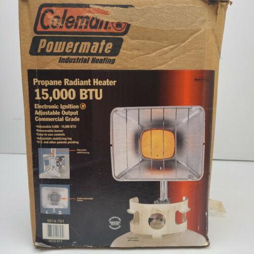 Colman Powermate 15000 BTU Bulk Propane Radiant Heater Open Box