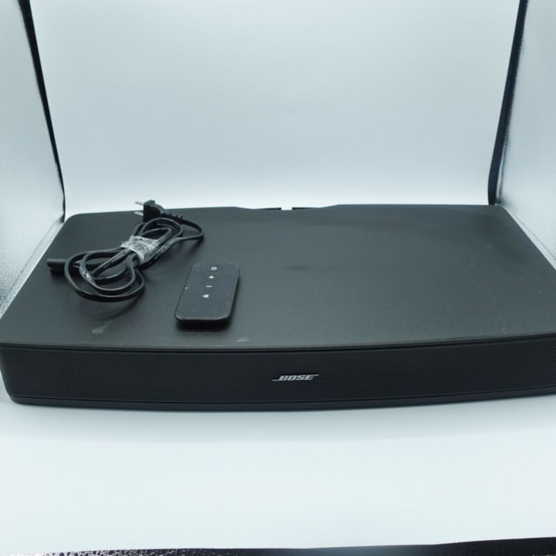 Bose Solo TV Sound System Speaker Model 410376 - Black #PR3540