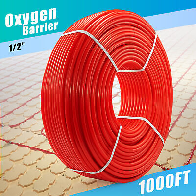 12 Pex Pipe 1000ft Tubing Pex-b Plumbing Tube For Water And Floor Heating