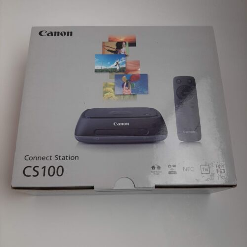 Canon Connect Station CS100 1TB Storage Device Instructions Remote New in Box