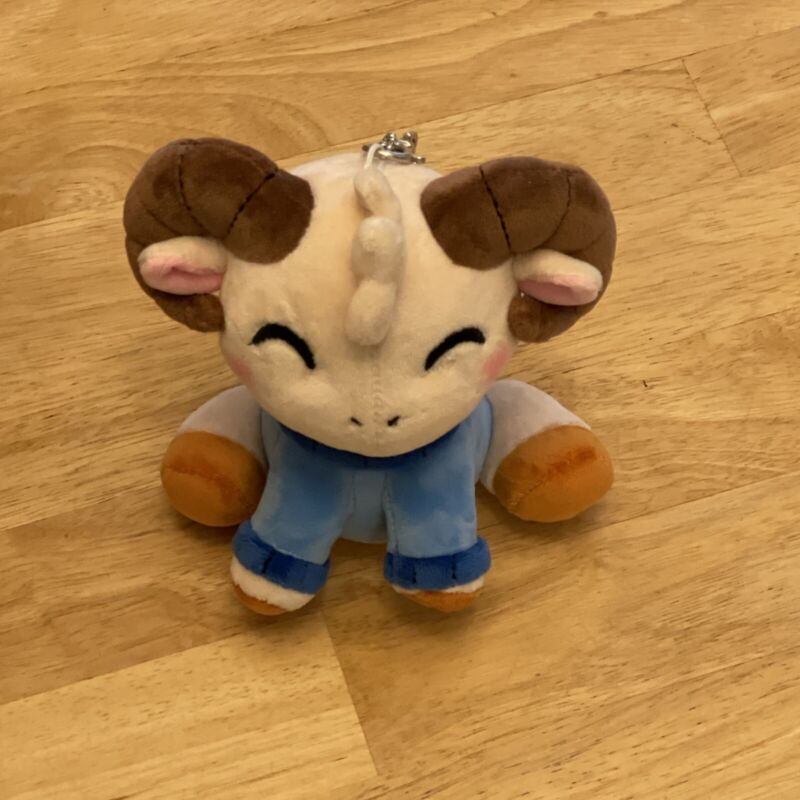Youtooz Jschlatt Ram Plush (6inch) with tags and keychains