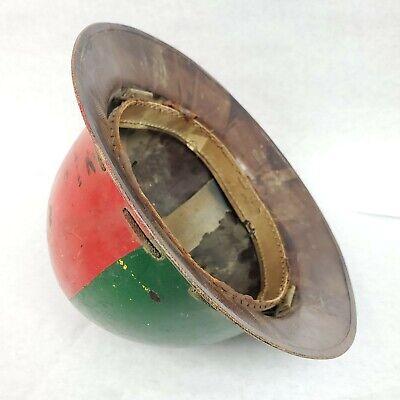 Vintage Msa Skullgard Type K Hardhat Hard Hat Full Brim Miners Ironworkers 1940s
