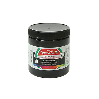 Speedball Water Soluble Screen Printing Ink Black 8oz