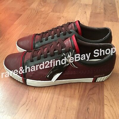 Puma AMQ Scarred Leather Brown Shoes UK10,5 ALEXANDER McQUEEN Super Cool Sneaker