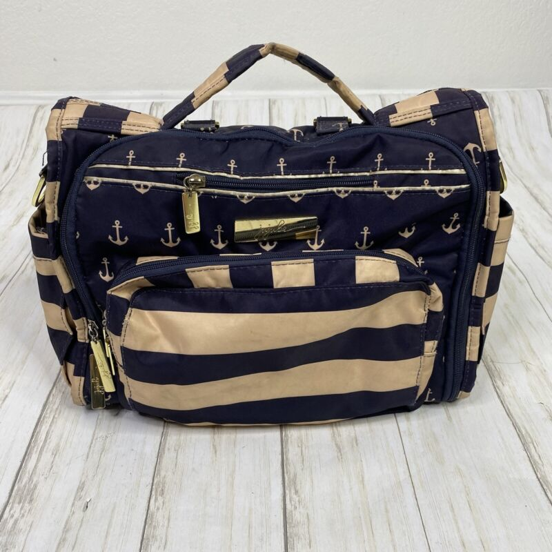 JuJuBe BFF Diaper Backpack in Admiral Anchor Print Maternity Baby