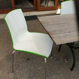7 Retro dining chairs by Schivello ex con Barton South Canberra Preview