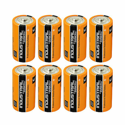 8 x Duracell Baby C Industrial LR14 UM2 MN1400 Batterie 1,5V Alkaline 8 Stück