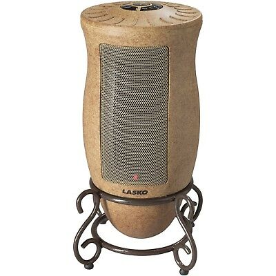 Designer Electric Oscillating Ceramic Space Heater Tower Stand Home Office Decor ()