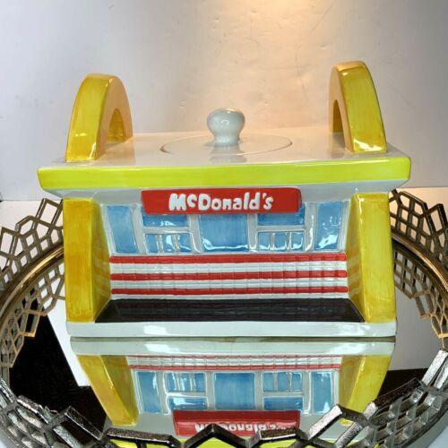 McDonalds Cookie Jar Treasure Craft Vintage Dated 1997 Vintage #N20