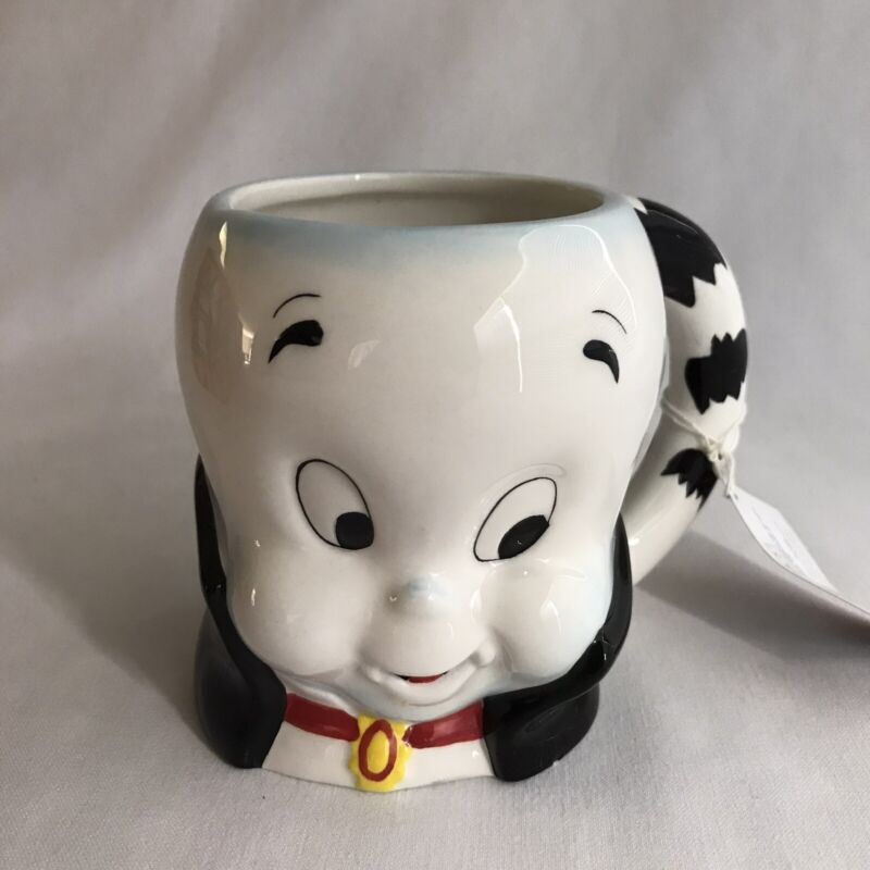 Casper the Friendly Ghost Halloween Ceramic Mug Dracula 4 Inches Tall