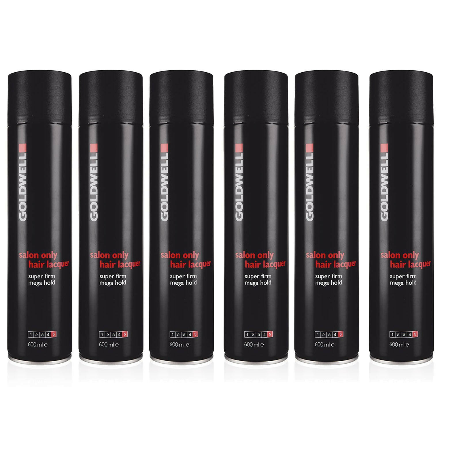 Goldwell salon only Haar Lack Haarspray stark hair lacquer super firm 6 x 600 ml