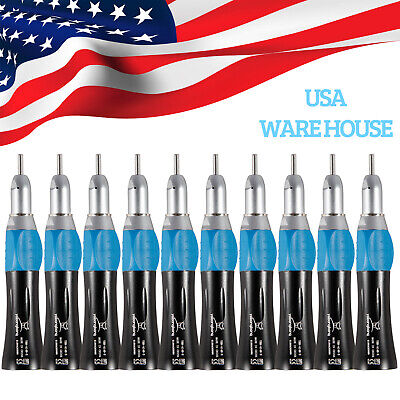 1-10 Yabangbang Dental Slow Low Speed Straight Handpiece Nose E-type Fnsk Pl