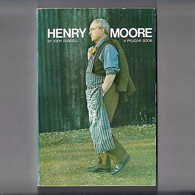 HENRY MOORE John Russell. 1973 Pelican Paperback Book