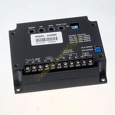 Nuevo EG2000 Universal Eléctrico Generador Reguladora Motor de Velocidad