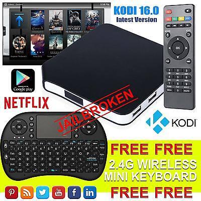 Version 2017 Android 4.4 TV Box With KODI 16.0 S805 Quad Core WIFI Mini Keyboard
