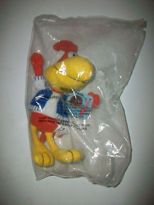 1997 General Mills Big G Breakfast Babies Sonny the Cuckoo Bird plush toy