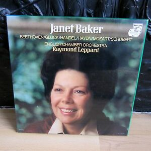 BRAND-NEW-SEALED-JANET-BAKER-BEETHOVEN-GLUCK-HAYDN-MOZART-PHILIPS-6767-001-4xLP