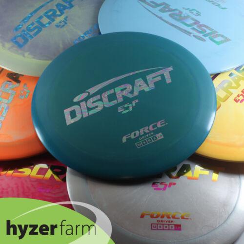 Discraft  ESP FORCE *pick weight & color* Hyzer Farm disc golf driver PART ONE