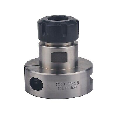 New Quick Lack Er25 Collet Chuck Fixture 20mm Adapter Tool Holder Usa Sell