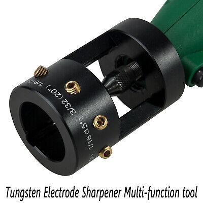 Tig Welding Tungsten Electrode Sharpener Grinder Multi-angle Offsets